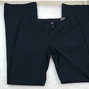 NWT The Limited black pinstripe Drew flare pants